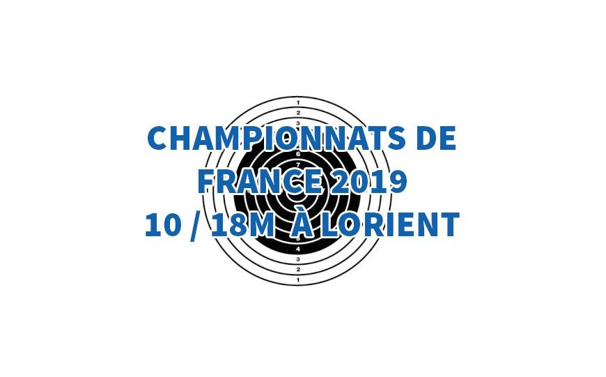 Les championnats de France de tir 10 - 18m à Lorient avec les cibles Objectif Cibles.